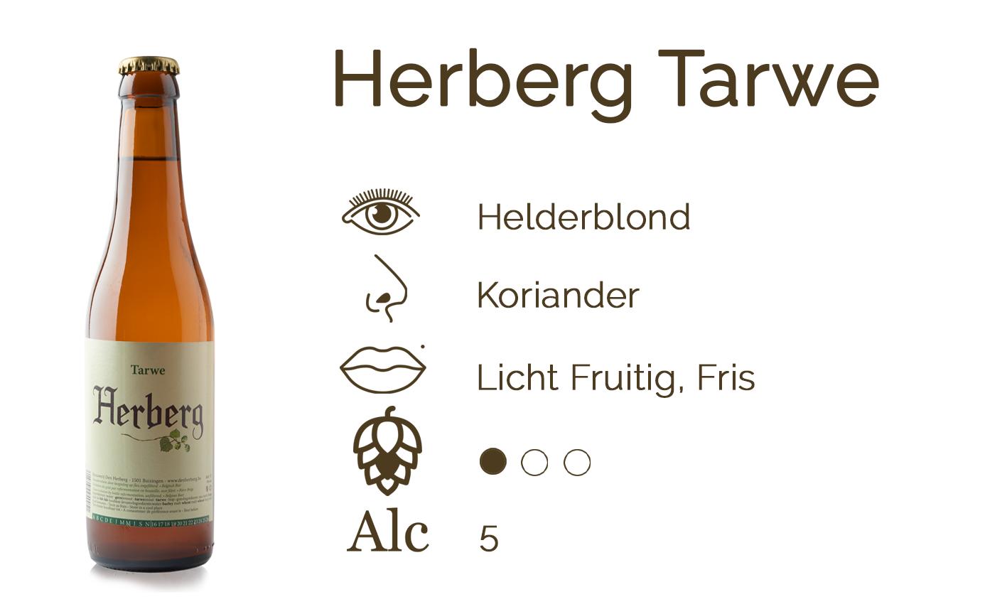 Smaakfiche Herberg Tarwe